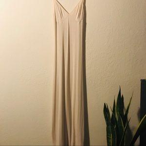 American Apparel Midi Slip Dress